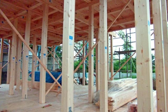基礎・構造部分の建設イメージ