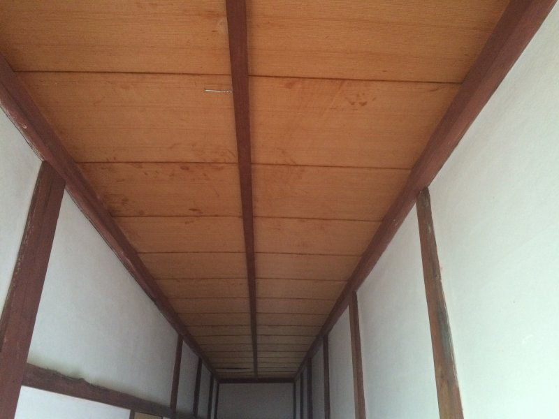 S様邸縁側天井・廊下修繕工事