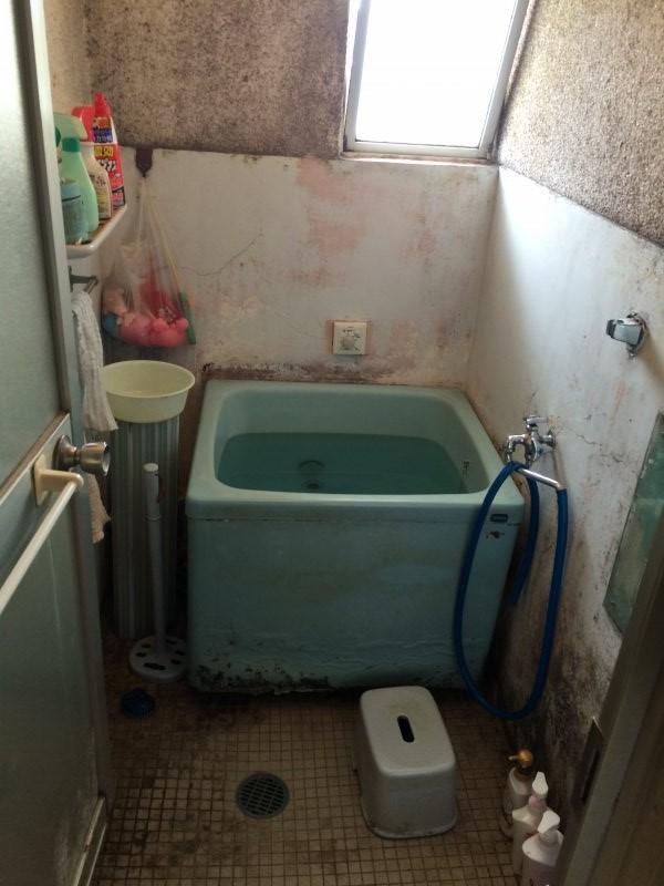 市営住宅浴室防水工事