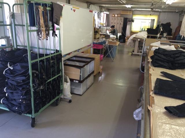 M縫製工場修繕工事
