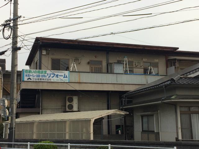 当社事務所建物 塗装工事