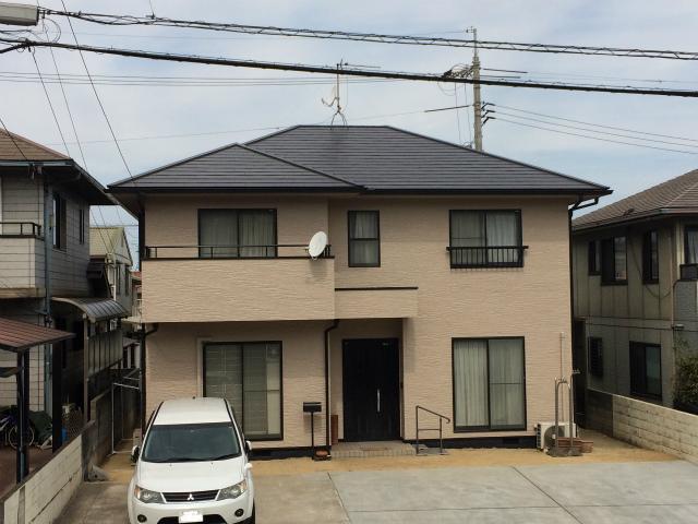 K邸外壁・屋根塗装工事