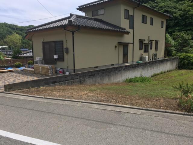 S邸外構フェンス工事