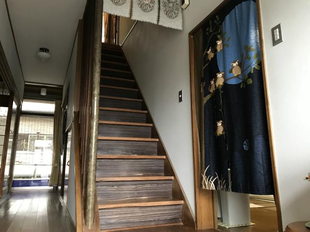 T邸階段手すり新設工事