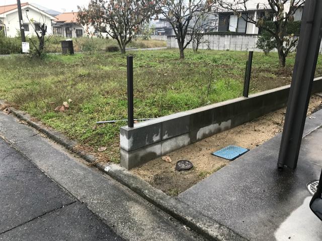 H邸ブロック補修工事